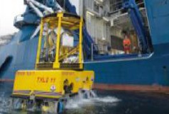 Windenantrieb für Unterwasserroboter