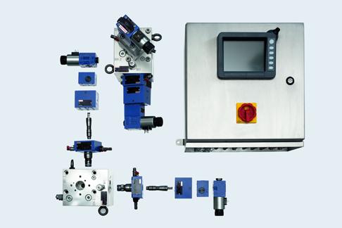 Die Kernkomponenten des STSS: hydraulische Sicherheitsblöcke und Controller.