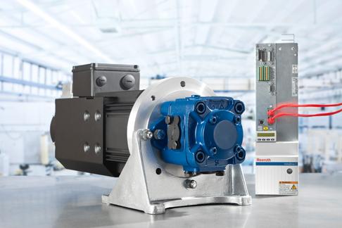 Rexroth Sytronix – energieeffiziente Hydraulik mit drehzahlvariablen Pumpenantrieben.