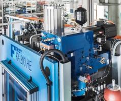 Der elektrische Servoantrieb der SHA-Achsen liefert immer nur die benötigte Leistung.