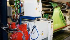 Radialkolbenmotoren für die Kautschukherstellung