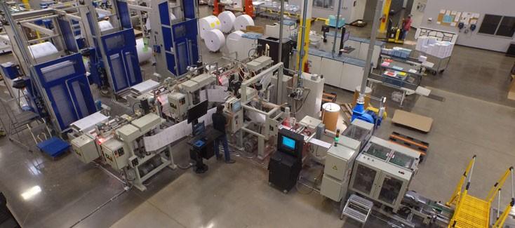 Schnelle Weiterverarbeitung im Digitaldruck