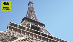 Mit effizienter Hydraulik auf den Eiffelturm