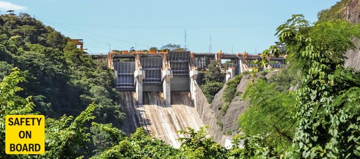 Hydrauliklösung für mexikanischen Staudamm