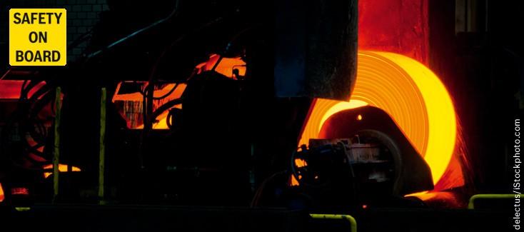 Hydraulik für Stahlwerk in Indien