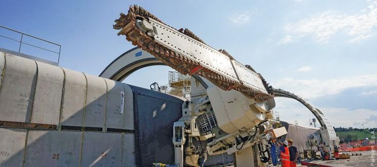 Hydraulikmotoren für die Tunnelmaschine
