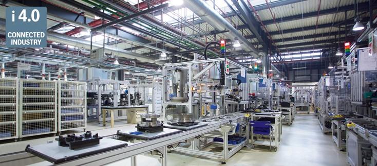 Chinesische Industrie-4.0-Fertigungslinie für mehr Produktivität