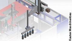 Greifsystem für Blasformmaschinen punktet mit Geschwindigkeit und hoher Wiederholgenauigkeit
