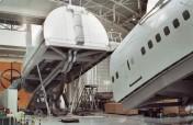 Simulator für Lufthansa zum Training von Kabinencrews
