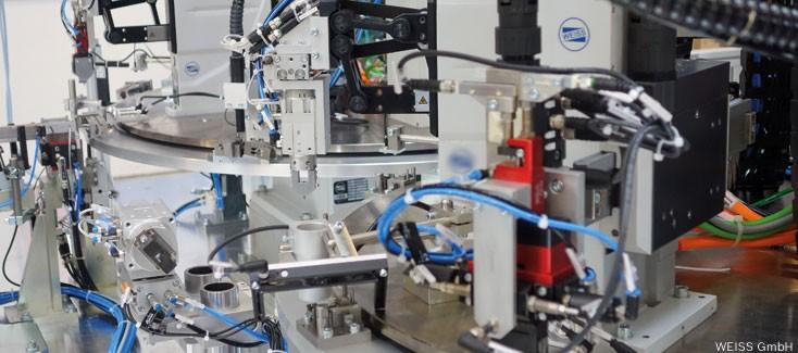 Technologie von Rexroth macht Handlinggerät von Weiss bereit für Industrie 4.0-Lösungen