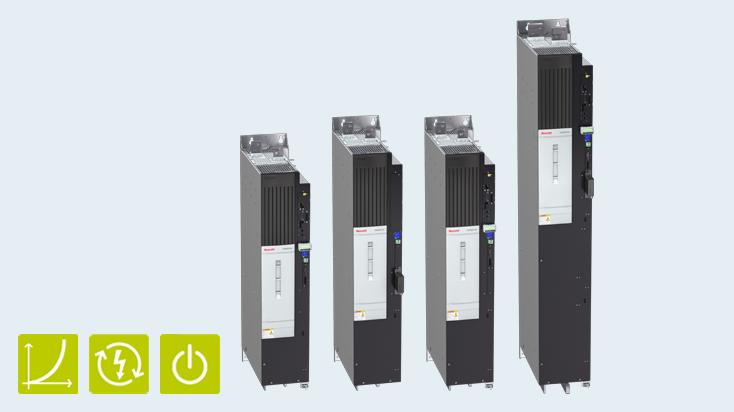 Energieeffizienz bei hohen Leistungen: IndraDrive ML für Leistungen bis 4 MW