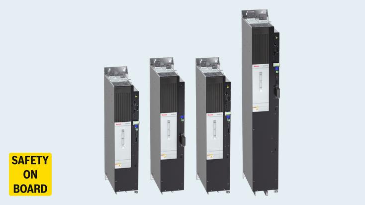 Sicherheit im Megawattbereich: IndraDrive ML mit Safety on Board